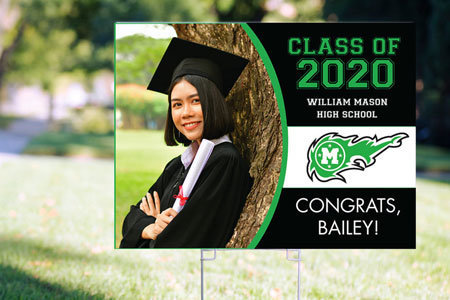 Custom Graduation Yard Signs