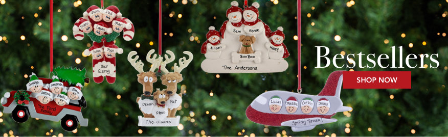 Bestseller Personalized Ornaments