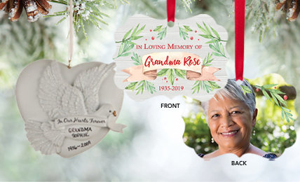 Memorial Personalized Christmas Ornaments