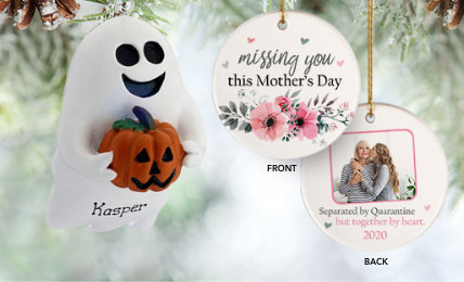 Holidays Personalized Christmas Ornaments