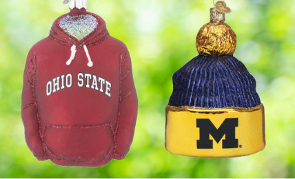 College Personalized Christmas Ornaments