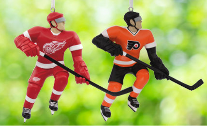 NHL Personalized Christmas Ornaments