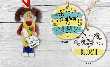 Crafting Personalized Christmas Ornaments