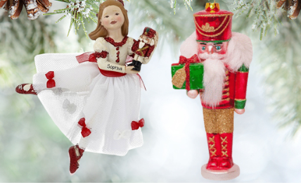 Personalized The Nutcracker Ornaments