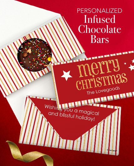 Personalized Infused Chocolate Bars