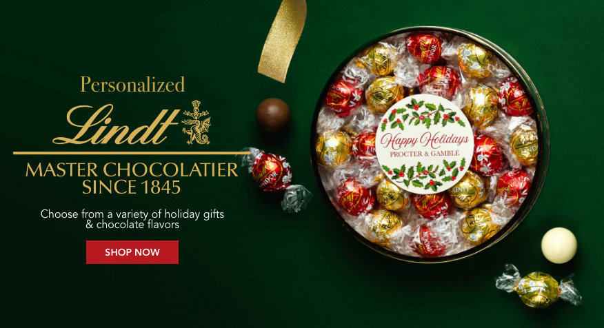 Personalized Lindt Gifts
