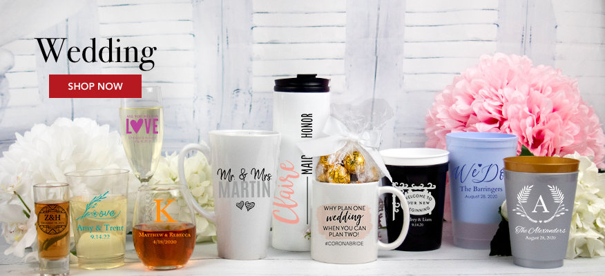Personalized Wedding Drinkware