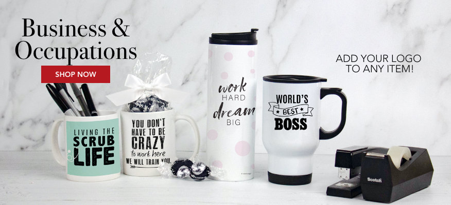 Personalized Business Drinkware