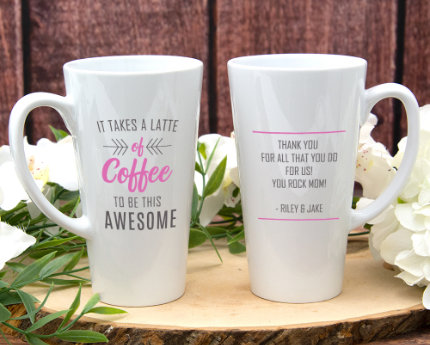 BIRTHDAY LATTE MUGS