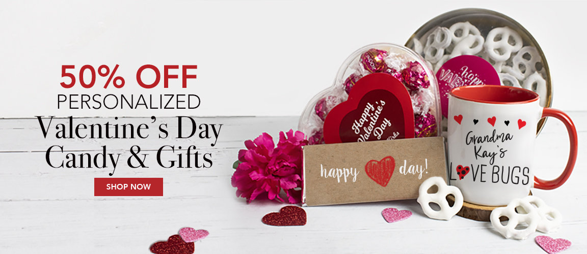 50% off valentines day gifts