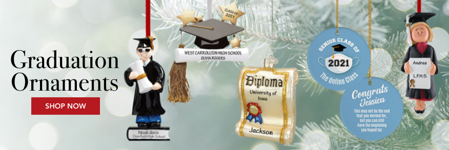 Personalized Graduation Ornaments