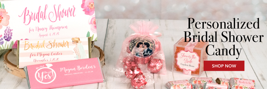 Personalized Bridal Shower Candy