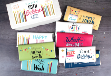 PERSONALIZED CANDY GIFTS
