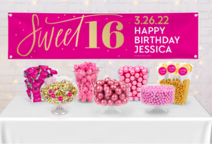 PERSONALIZED BIRTHDAY CANDY BUFFETS