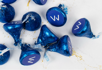 PERSONALIZED BUSINESS HERSHEY'S KISSES