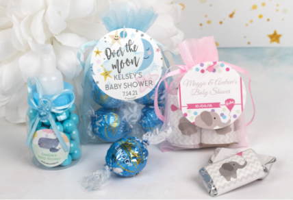 Personalized Baby Candy Gifts & favors