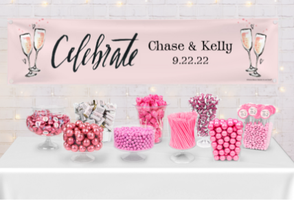 PERSONALIZED WEDDING CANDY GIFTS & FAVORS