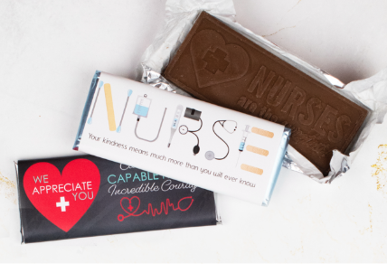 PERSONALIZED NURSE APPRECIATION CANDY GIFTS & FAVORS