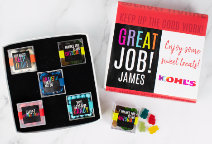 PERSONALIZED APPRECIATION CANDY GIFTS & FAVORS