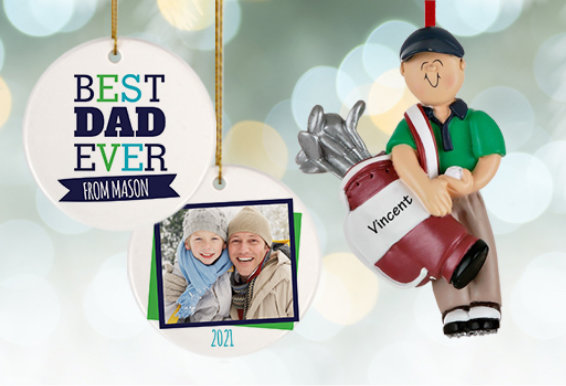 Father's Day Ornaments & Gifts