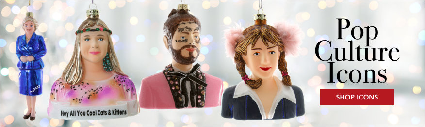 Personalized Celebrity Ornaments