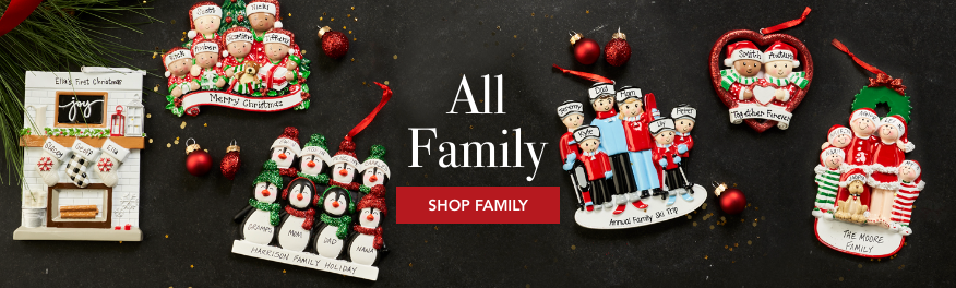All family ornaments