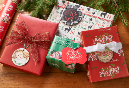 Giftwrap & tags