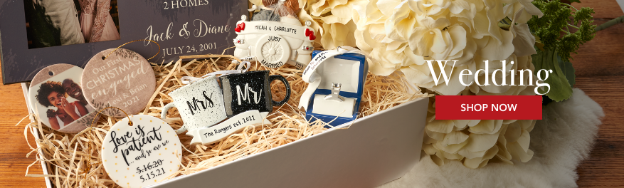 Wedding Personalized Christmas Ornaments