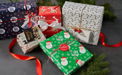 Personalized Christmas GIFT WRAP & TAGS