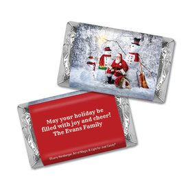 Personalized Christmas Santa's Gifts Mini Wrappers Only