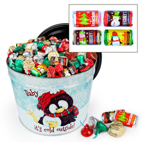 Baby It's Cold Outside Hershey's Holiday Mix Tin - 10 lb