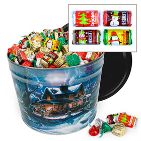 First Homecoming Hershey's Holiday Mix Tin - 14 lb