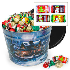 First Homecoming Hershey's Holiday Mix Tin - 10 lb