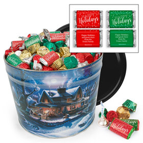 Personalized First Homecoming Hershey's Holiday Mix Tin - 10 lb