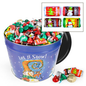 Frosty Friends Hershey's Holiday Mix Tin - 14 lb