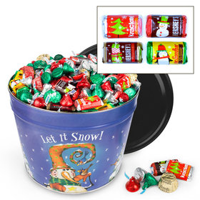 Frosty Friends Hershey's Holiday Mix Tin - 10 lb