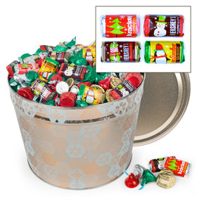 Shining Snowflakes Hershey's Holiday Mix Tin - 10 lb