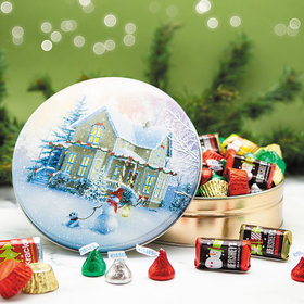 All Decked Out Hershey's Holiday Mix Tin - 1 lb