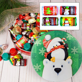Cold But Cozy Hershey's Holiday Mix Tin - 1 lb