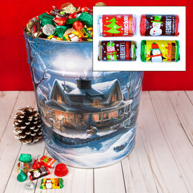 First Homecoming Hershey's Holiday Mix Tin - 20 lb