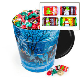 Through the Woods Hershey's Holiday Mix Tin - 20 lb
