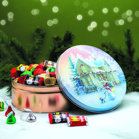 All Decked Out Hershey's Holiday Mix Tin - 2 lb