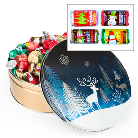 Crystal Evening Hershey's Holiday Mix Tin - 2 lb