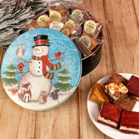 Forest Friends Gift Tin Assorted Brownies