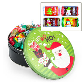 Santa with Gifts Hershey's Holiday Mix Tin - 2 lb