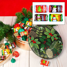 Golden Pinecones Hershey's Holiday Mix Tin - 2 lb