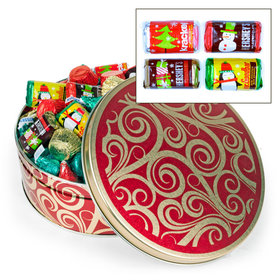 Golden Swirls Hershey's Holiday Mix Tin - 2 lb