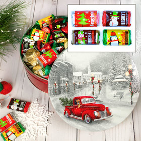 Snowy Drive Hershey's Holiday Mix Tin - 2 lb