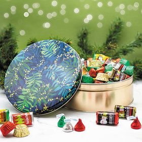 Touch of Gold Hershey's Holiday Mix Tin - 1 lb