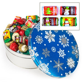 Blue Flurries Hershey's Holiday Mix Tin - 3 lb